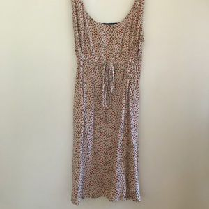 Brandy Melville  Sundress with Red Flowers